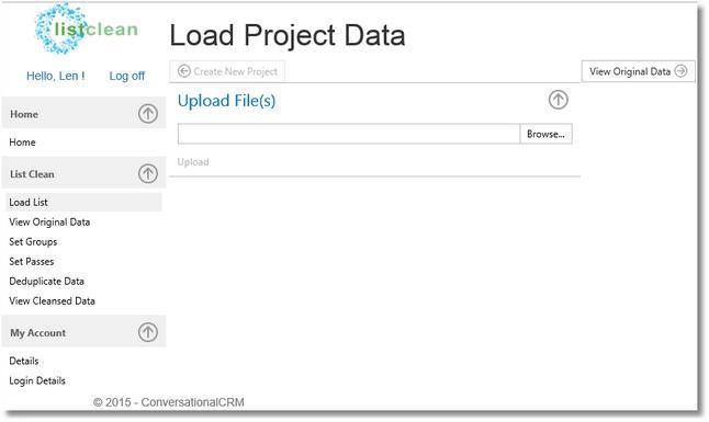 listclean-LoadProjectData
